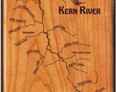 Kern River Map Fly Box - ...