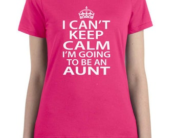 pregnancy announcement, reveal to aunt, aunt to be gift, aunt to be shirt, going to be aunt, baby shower shirt