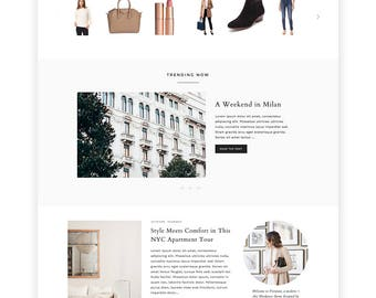 "NEW Wordpress Theme - Wordpress Ecommerce Theme - Photography Theme - Genesis Theme - ""Vivienne"" Instant Digital Download"