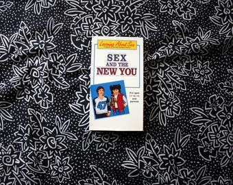Sex And The New You VHS Tape. Cult Classic Viral Video Christian Sex Education Cartoon Video. Weird Creepy VHS Trash.