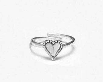 Monterey Heart Sterling Ring