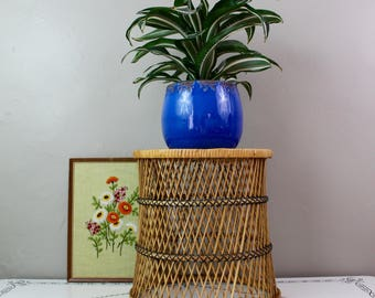 Wicker Plant Stand/Table