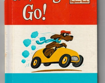 Go Dog Go by PD Eastman - Dr. Seuss - An I Can Read it All By Myself Beginner Readers - Vintage Childrens Book -