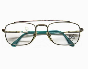 "Vintage ""Lucottica Italy"" NOS eyeglass frame   90s fashion"