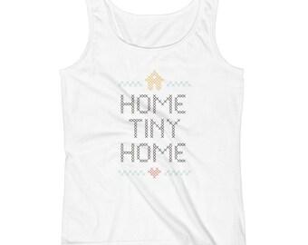 Home Tiny Home Womens Tank-Top