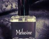 MELUSINE floral perfume spray ~ Verbena, Water Lotus & Tonka Bean ~ Handmade feminine perfume gift
