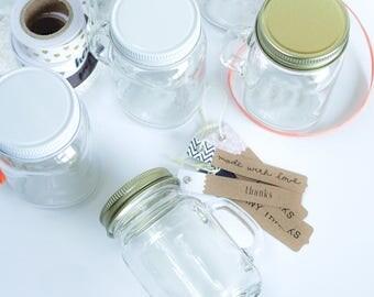 Mini Mason Jar, Rustic Wedding Favor, Wedding Shot Glasses, Mason Jar, Wedding Favors, Mini Glass Jar, Rustic Wedding, Mason Jar with Lid
