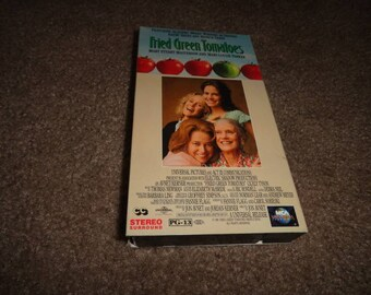Fried green tomatoes  collectible vhs tape vintage vcr -vcr-vhs-tape-vhs tape- vcr tape- vcr machine- tape player-