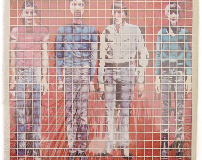 Vintage 70s Talking Heads More Songs About Buildings and Food New Wave Album Record Vinyl LP