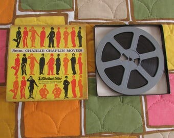 BLACKHAWK 8 mm. Movies, Charlie Chaplain Movie Blackhawk Films Movie Film with Reel in Original Box. IOB