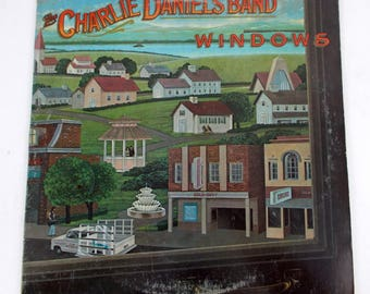 The Charlie Daniels Band Windows Vinyl LP Record Album FE 37694