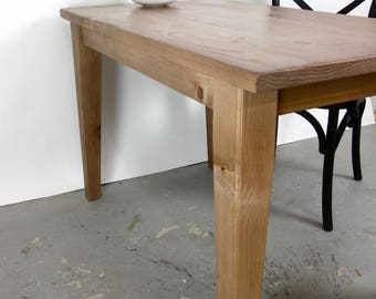 French Farmhouse Rustic Kitchen Table