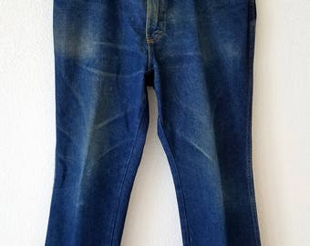 Dickies Jeans Workers Denim Grunge Distressed 34x30