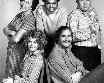 Cast from All In The Family , 1970's