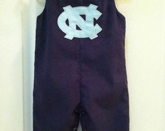 Baby Boy's North Carolina Tar Heels Longall