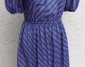 Vintage Short Sleeve Stri...