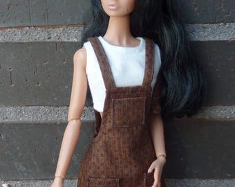Outfit for Barbie and Poppy Parker dress.