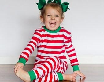Christmas Pajamas, Monogram Christmas Pajamas, Personalized Christmas Pajamas, Kids Christmas Pjs, Family Christmas Pajamas, Christmas Pjs