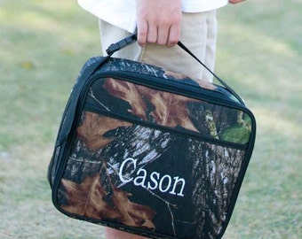Personalized Woods Lunch Box