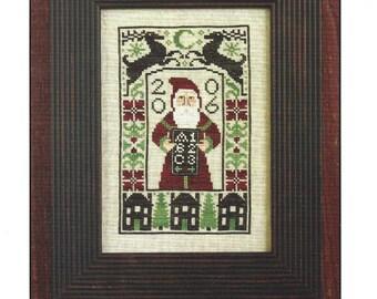 Prairie Schooler - Dear Santa- 2006 Limited Edition Kit - Pattern Zweigart Linen Crescent Colours Floss