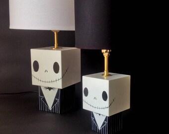 """Petite lampe figurine cubique """"Jack"""""""