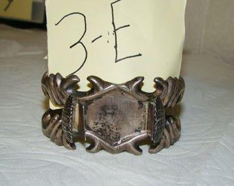 NA 3-E Sterling NA Watch Bracelet