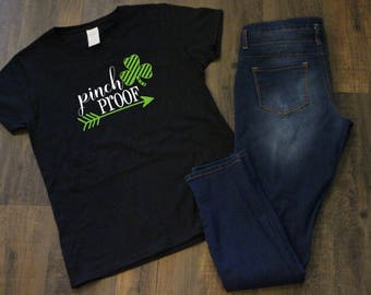 Pinch Proof Shamrock T-shirt