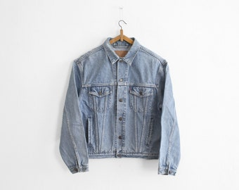1980s Levi's Trucker Jacket - 70503 02 - Made In France