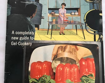 Knox On-Camera Recipes - 1962 Cookbook First Edition