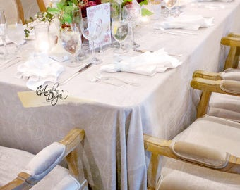 Velvet Tablecloth | Elegant Table Linens for Event Wedding Head Table Cake Table Bridal Shower Birthday Party
