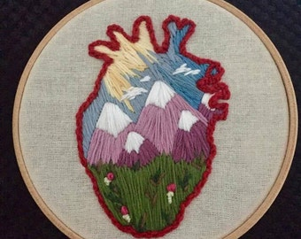 Wanderlust Embroidery