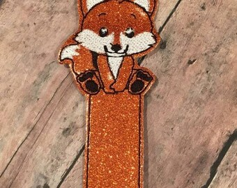 Fox Bookmark - In The Hoop - DIGITAL EMBROIDERY Design