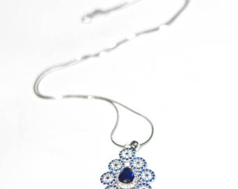 Silver Tangiers Necklace