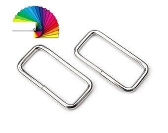 4 Metal Belt Loop Buckle