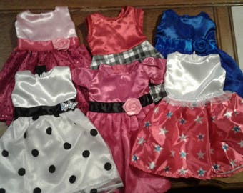 """Fancy Dresses for  18"""" Doll     - Our Generation & American Girl"""