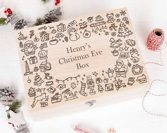 Christmas Eve Box Memory Box Keepsake Box, Night before Christmas Box, Gift Box, With Free Gift CEB12