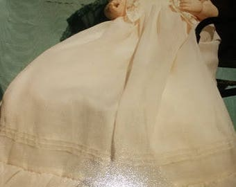 "BS-162, 17-18""  Antique Reproduction Doll Dress Pattern"