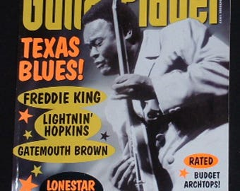 Texas Blues Freddie King Lightnin' Hopkins Gatemouth Brown Oct 1997 Guitar Player Magazine