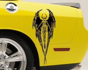 Evil Demon Decal // sticker // fallen angel // AA05.22
