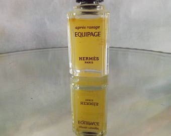 Vintage Apres Rasage Equipage Hermes Paris 1970's