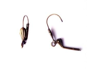 Sleeper shell bronze x 2 (1 pair)