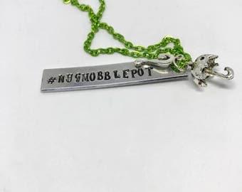 Hashtag Nygmobblepot necklace