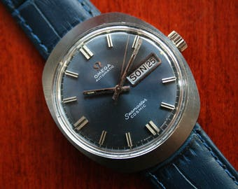 OMEGA - Vintage OMEGA Seamaster Cosmic Automatic - Ref. 166.035 - Cal. 752 Mens Watch