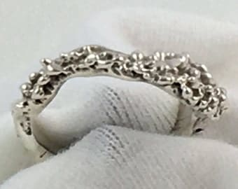 Sea Life Ring in Sterling Silver