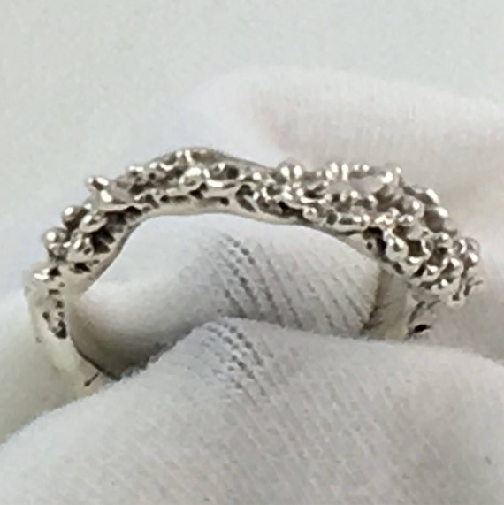 Silver Sea Life Ring