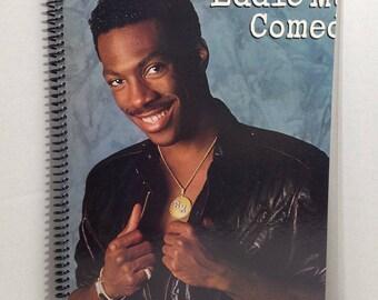 Eddie Murphy Album Cover Notebook Handmade Spiral Journal Blank Composition Book Comedian