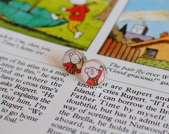Rupert Bear Earrings