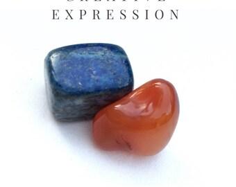 Creative Expression ~ Healing Stone Set