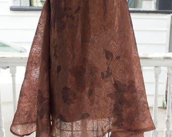 Shear Trapezoid Dress