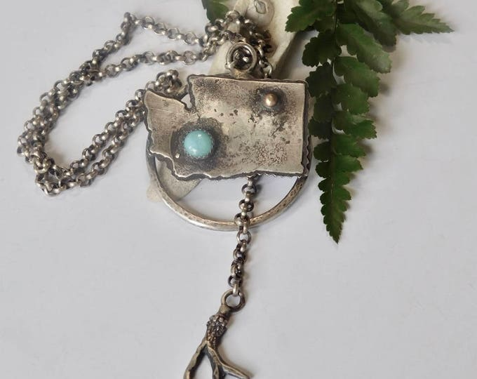 Pacific Northwest Love Necklace #2